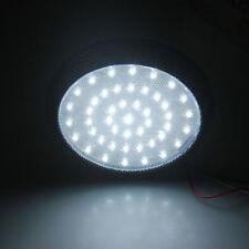 12V 46 LED Blanca Redondo Luz De Techo Interior Coche Tejado Lámpara De Lectura