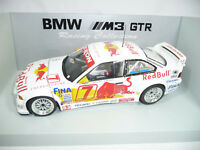 BMW M3 E36 GTR 1997 QUESTER SAID RED BULL #7 1:18 UT-MODELS 39715 ULTRA RARE