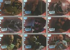 "Dexter Fourth Season - ""Trinity's Kill"" Set Of 9 Chase Cards #D4:TM:1-9"