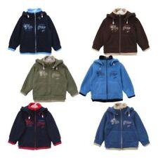 giacche di pile casual per bambini dai 2 ai 16 anni poliestere