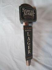 SAMUEL ADAMS BOSTON LAGER  BEER TAP HANDLE  HUGE 9 1/2 in KNOB EUC MANCAVE / BAR