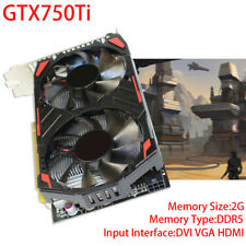 GTX 750 Ti 2GB DDR5 PCI-E 3x16 Video Graphics Card HDMI DVI VGA