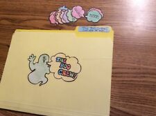 The Boo Crew! Vowel digraphs language Centers File Folder Games 2nd