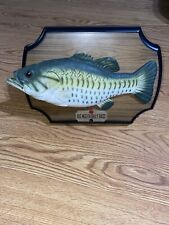 Vintage 1999 Big Mouth Billy Bass Singing Fish Motion Activated come W/ Battery