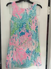 Lilly Pulitzer Let's Cha Cha Shift Dress Size 0 Extra Small
