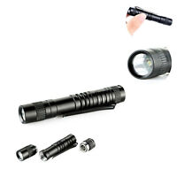 Mini 1000 Lumens XPE-R3 LED Lamp Clip Penlight Flashlight Torch Light AAA