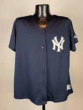 Women's Majestic Fan Fashion New York Yankees Aaron Judge Baseball Jersey 2XL