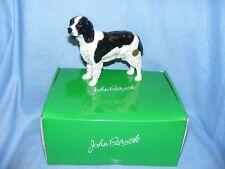 John Beswick English Springer Spaniel Dog Black White JBD80BW New Boxed Figurine