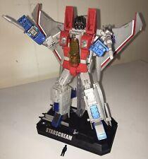 Transformers Masterpiece Starscream Decepticon Seeker Jet MP-07 Toysrus Bonus+