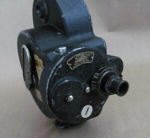 Bell & Howell Filmo 70A 16mm Cine Camera, 1920's, Works, Cooke f3.5 Lens, Case