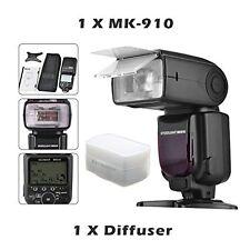 MEIKE MK-910 Flash NIKON SPEEDLITE TTL HSS CLS COME NIKON SB-910+ DIFFUSORE