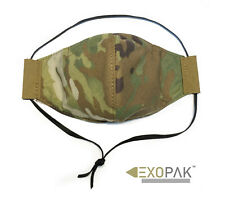 Washable Reusable Respirator-style Face mask [Pack Of 3] Multicam - Exopak