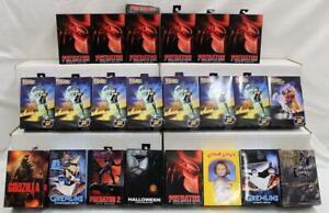Lot of 22 NECA Figures-Gremlins, Chucky, King Kong, Godzilla, Predator & More NR