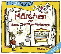 DIE 30 BESTEN MÄRCHEN VON HANS CHRISTIAN ANDERSEN 6 CD BOX-SET NEU