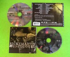 CD + DVD RICKY MARTIN Mtv Unplugged 2006 Europe SONY BMG 88697028522 no lp(CS27)