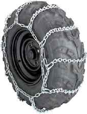 """Atv Ice Snow 11 V-Bar Tire Chains For Most 27"""" & 28"""" Front & Rear Tires"""