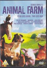 Animal Farm - Kelsey Grammer, Ian Holm, Peter Ustinov UK R0 DVD