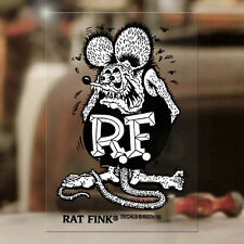Rat Fink original Ed Roth sticker decal genuine hot rod rat big MOON small