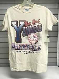 MLB NEW YORK YANKEES NATURAL VINTAGE TUBULAR TEE            - FREE SHIPPING -