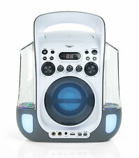 NEW Goodmans XXB12DCDG Water Dancing Karaoke Machine with Disco Light LED