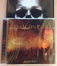 LIQUID GRAVEYARD / ON EVIL DAYS - CD (Italy 2009) SIGILLATO/SEALED