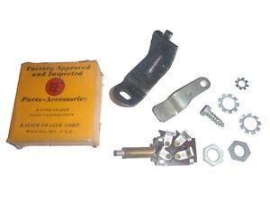 NOS Overdrive Kickdown Switch & Hardware 1947-1950 Kaiser 47 48 49 50 51 Frazer