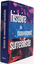 Histoire du mouvement surréaliste. Gérard DUROZOI. Hazan 1997.