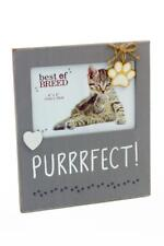 Purrrfect Cat Vintage Style Photo Frame Gift BB324