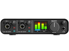 Motu M2 Interfaccia Audio USB-C 2-in/2-out per Mac, Windows e iOS Qualità Studio