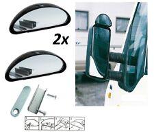 2x Adjustable FROG Blind Spot Mirror 15cm Blindspot for Car Van Lorry Caravan