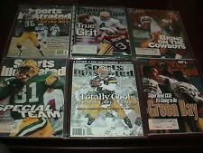 Brett Favre Green Bay Packer Football SI Sports Illustrated Magazines GB Packers
