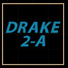 Drake 2-A Ham Radio Amateur Radio Dust Cover