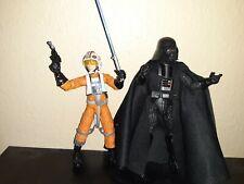 Starwars Black Series 6 inch Darth Vader & Luke Skywalker