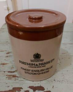Fortnum & Mason Stilton Blue Cheese Pot with Lid  England