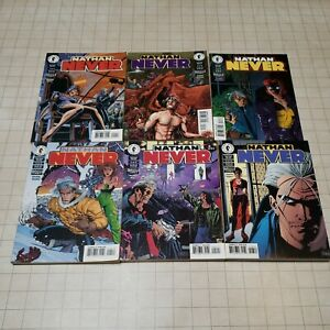 Nathan NEVER Dark Horse Comics, 6 Volumes lot Graphic Novels