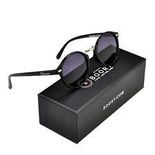 Boort Baruwaluwu Polarised Sunglasses [ Shiny Black – Dark Grey ]