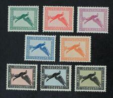 CKStamps: Germany Stamps Collection Scott#C27-C34 Mint H OG