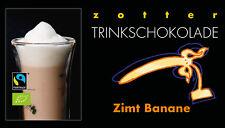 Zotter Trinkschokolade Zimt Banane 5 x 22 g (100 g = 5,91 €)