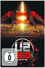 "U2 ""360 DEGREES TOUR (360° AT THE ROSE BOWL)"" DVD NEU"