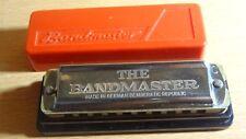 The Bandmaster Vintage Harmonica (key of C) ~ Germany