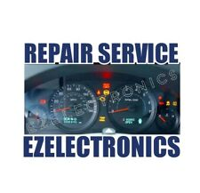 2005 TO 2010 JEEP GRAND CHEROKEE INSTRUMENT CLUSTER REPAIR SERVICE
