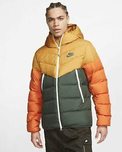 Nike Men's XL Windrunner Down Fill Hooded Puffer Jacket Coat 928833-727