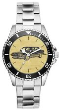 Kiesenberg Uhr 6205 Geschenk Artikel für BMW 5er E28 Oldtimer Fans und Fahrer