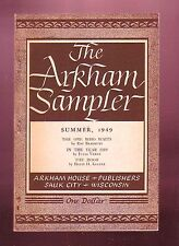 THE ARKHAM SAMPLER (Summer 1949/August Derleth, editor/1st US)