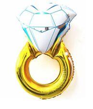 Piccolo faccio, Fidanzamento Matrimonio Addio Al Celibato Nubilato Stagnola anello di diamanti Foil Balloon