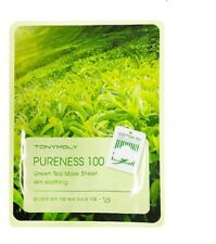 TONY MOLY PURENESS 100 GREEN TEA MASK SHEET **UK SELLER** KOREAN COSMETICS