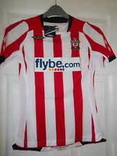 NEW LADIES SOUTHAMPTON SAINTS FOOTBALL SHIRT HOME SIZE 8 UMBRO FLYBE 2008-2009