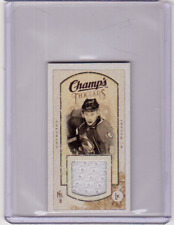 WOJTEK WOLSKI 09/10 CHAMPS CHAMP'S MINI THREADS JERSEY #MT-WW Card Game-Used