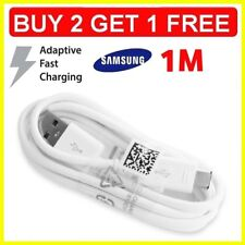 Fast Charger 1M USB Data Sync & Cable Lead for Samsung Galaxy S5 S6 S7 & Edge