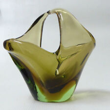 Skrdlovice Vase Bohemian & Czech Art Glass